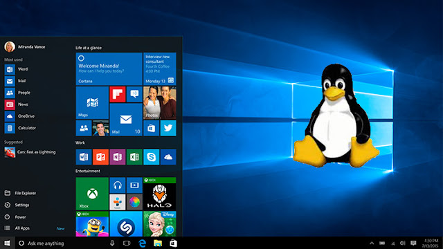 Window 10 May Have Linux