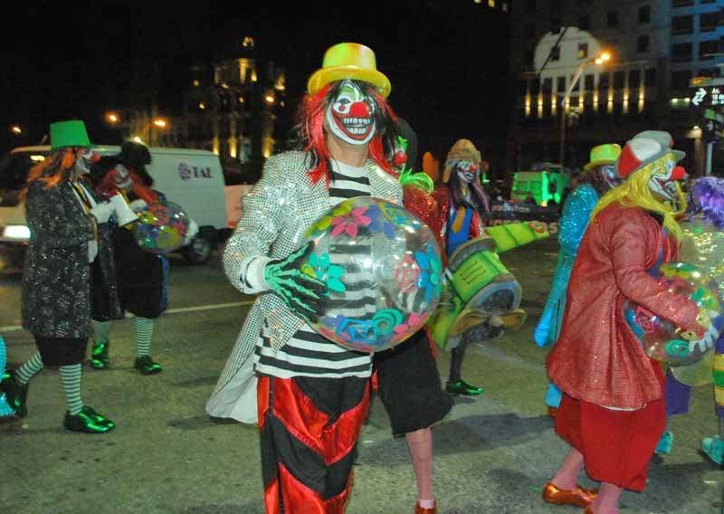 Desfile Inaugural del Carnaval. 2015. Fantoches.