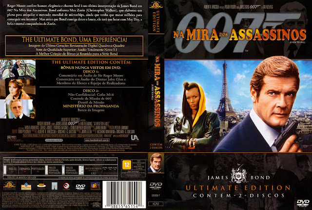 Capa DVD Na Mira dos Assassinos