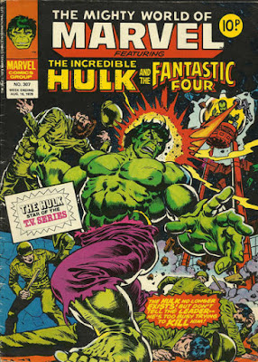 Mighty World of Marvel #307, Hulk vs Leader