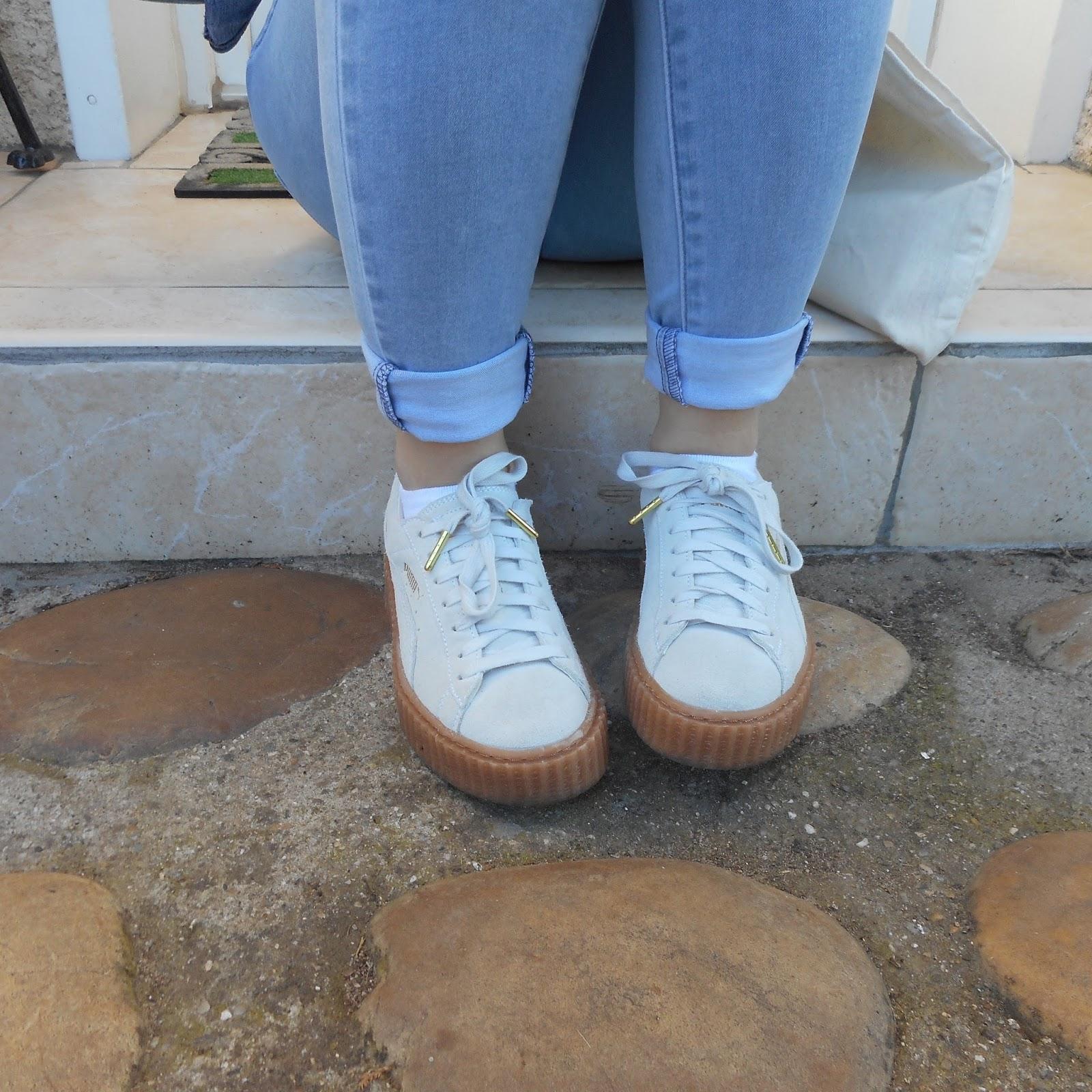 puma rihanna blanc
