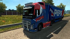 PEPSI pack for Volvo 2012