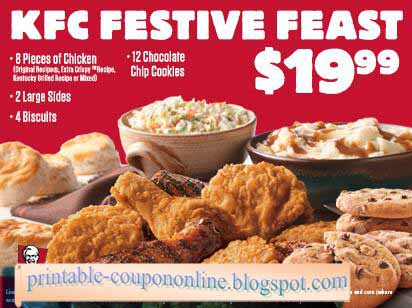Save on lunch & dinner with KFC Coupons on RetailMeNot. Act fast, December offers end soon!