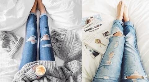 #JeansLovers: Jeans Rasgados | Destroyed