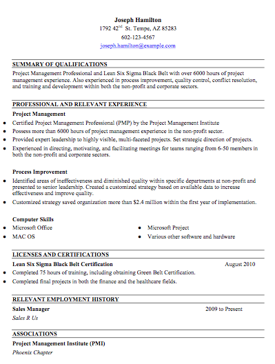sample combination resume free resume templates resumes from good pinterest - Sample Combination Resume