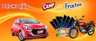 Cadastrar Promoção Camp + Fructus 2018 Carro Moto Smartphones Kits Camp