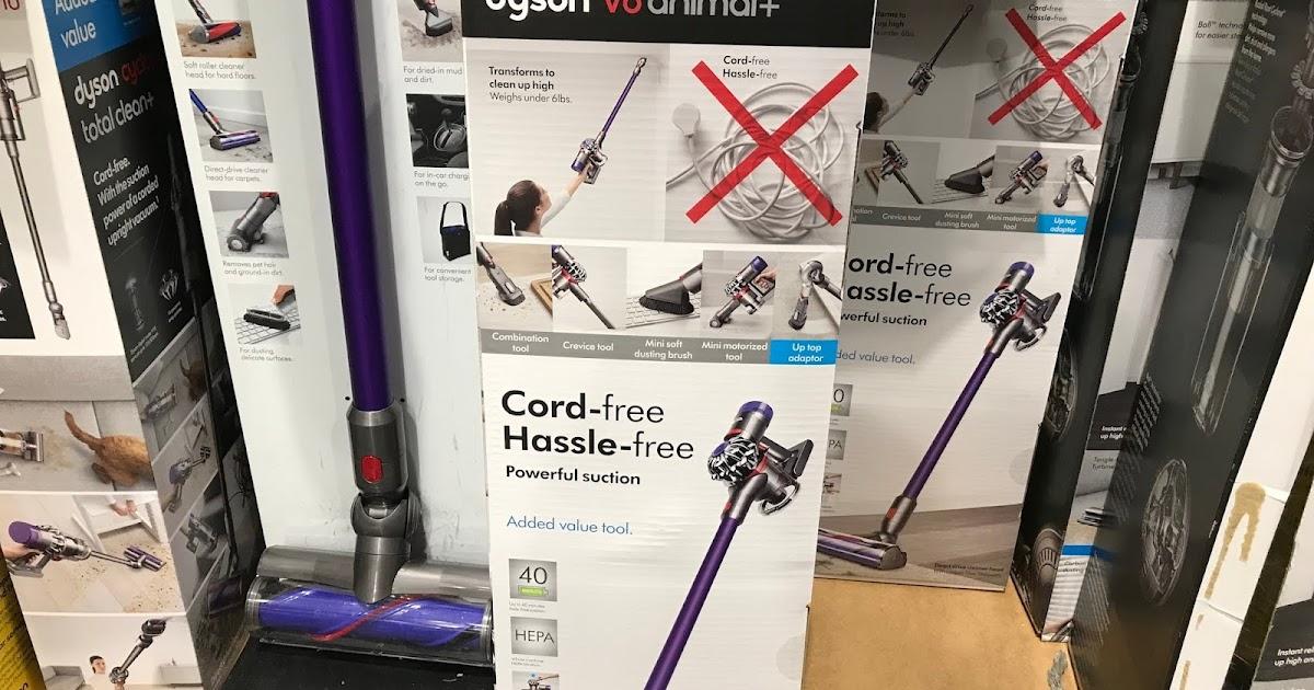 Dyson V8 Animal Vacuum Costco Weekender
