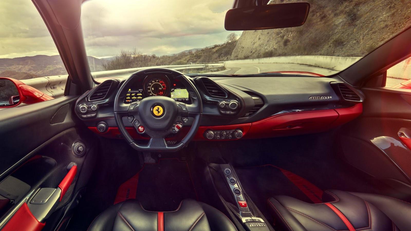 Ferrari 488 GTB là một trong những siêu xe nhanh nhất thế giới