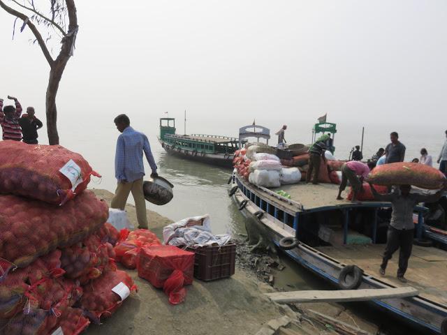 Sardarpara Ferry Ghat Samshernagar Sundarban