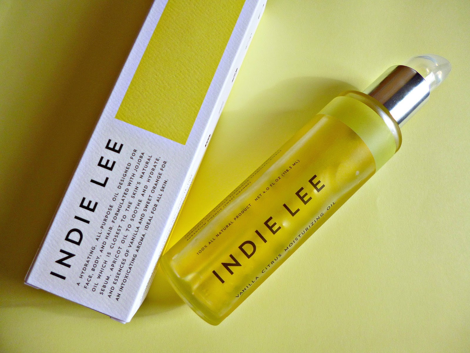 New to the UK – Indie Lee Body oils