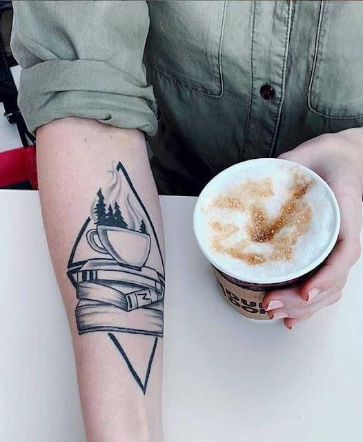 Tatuagens para quem ama tomar café