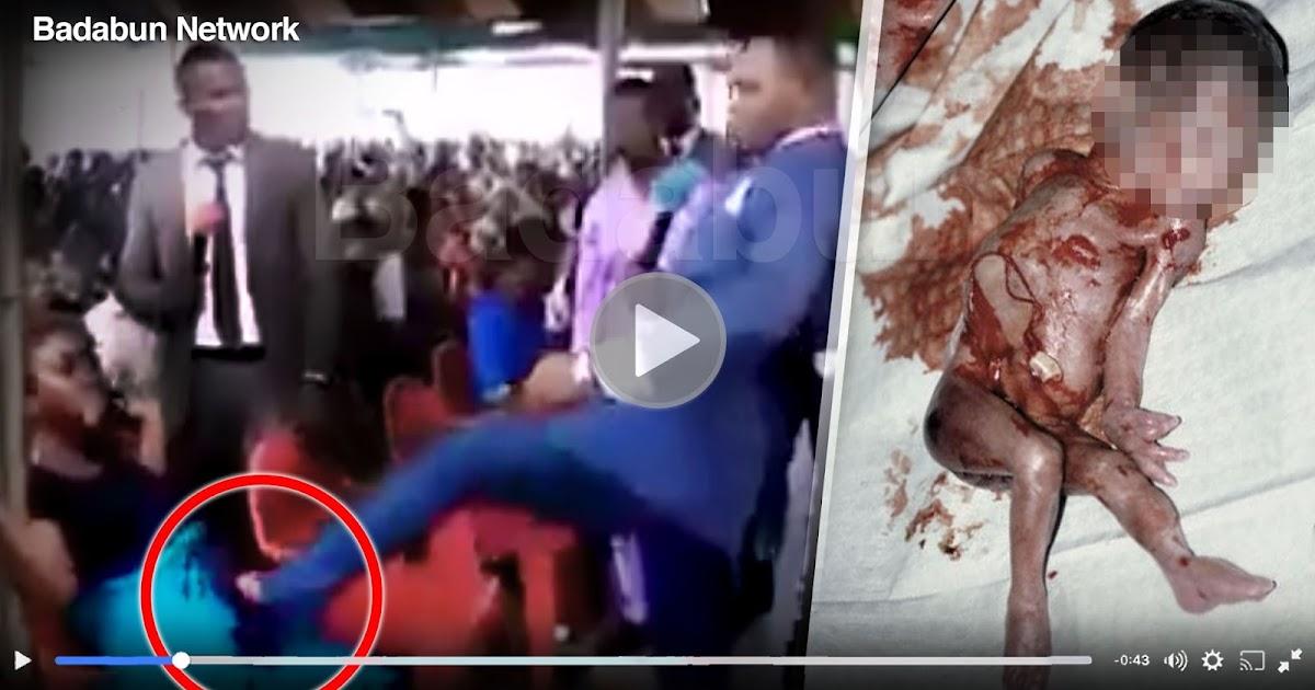 golpea vientre mujer embarazada pastor