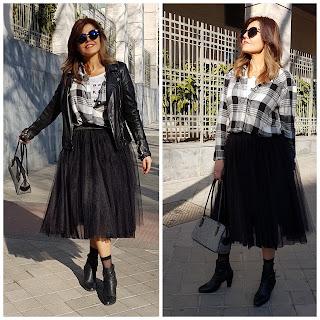Falda de tul, ideas para combinarla