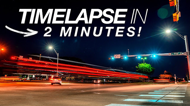 EASY TIMELAPSE TUTORIAL in 2 MINUTES!