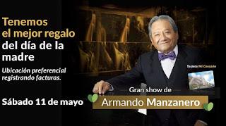Concierto de ARMANDO MANZANERO en Salitre Plaza Bogotá
