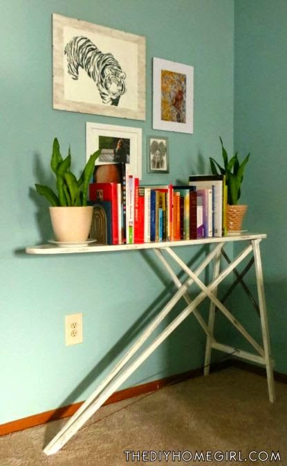 vintage-ironing-board-upcycled-into-a-bookshelf
