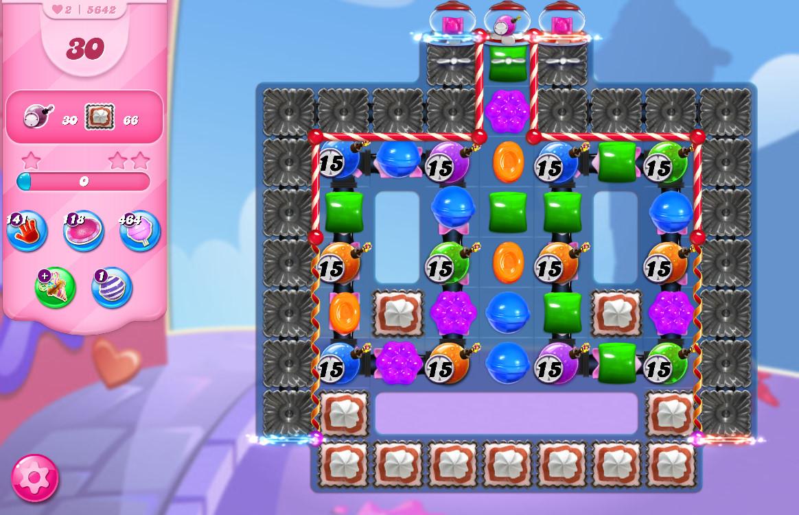 Candy Crush Saga level 5642