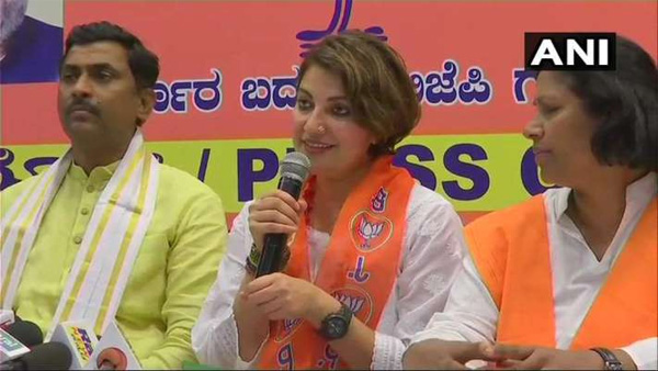 National, Karnataka, Cinema, News, Politics, BJP, Election, Congress, Award, Famous Actress Bhavana Joined In BJP