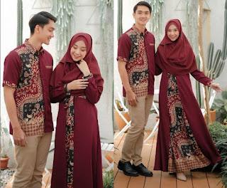 Solid Berdua Dengan Batik Sarimbit