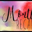 What I liked more #MonthlyRecap
