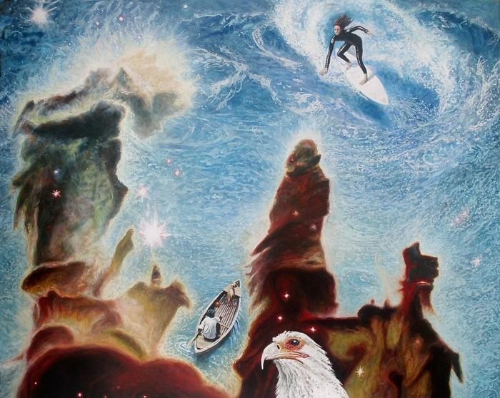 Австрийский художник. Wolfgang Widmoser