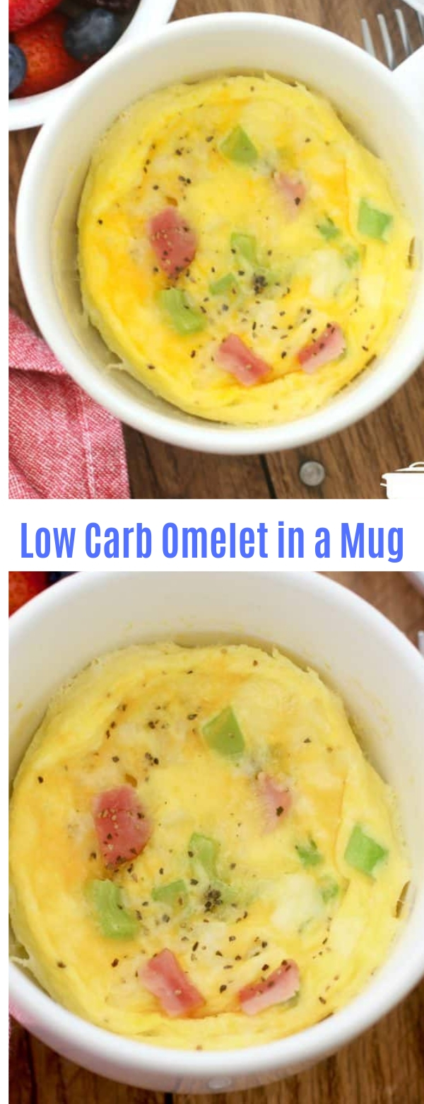 Low Carb Omelet in a Mug