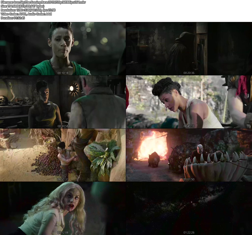 Iron Sky The Coming Race 2019 720p WEBRip x264 | 480p 300MB | 100MB HEVC Screenshot