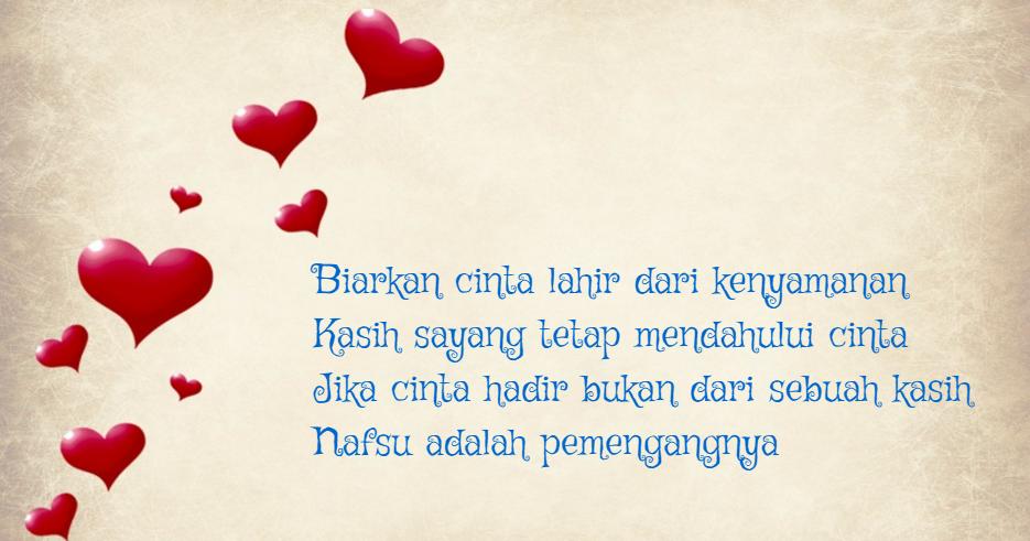 Puisi Cinta Untuk Kekasih Bahasa Inggris Dan Artinya