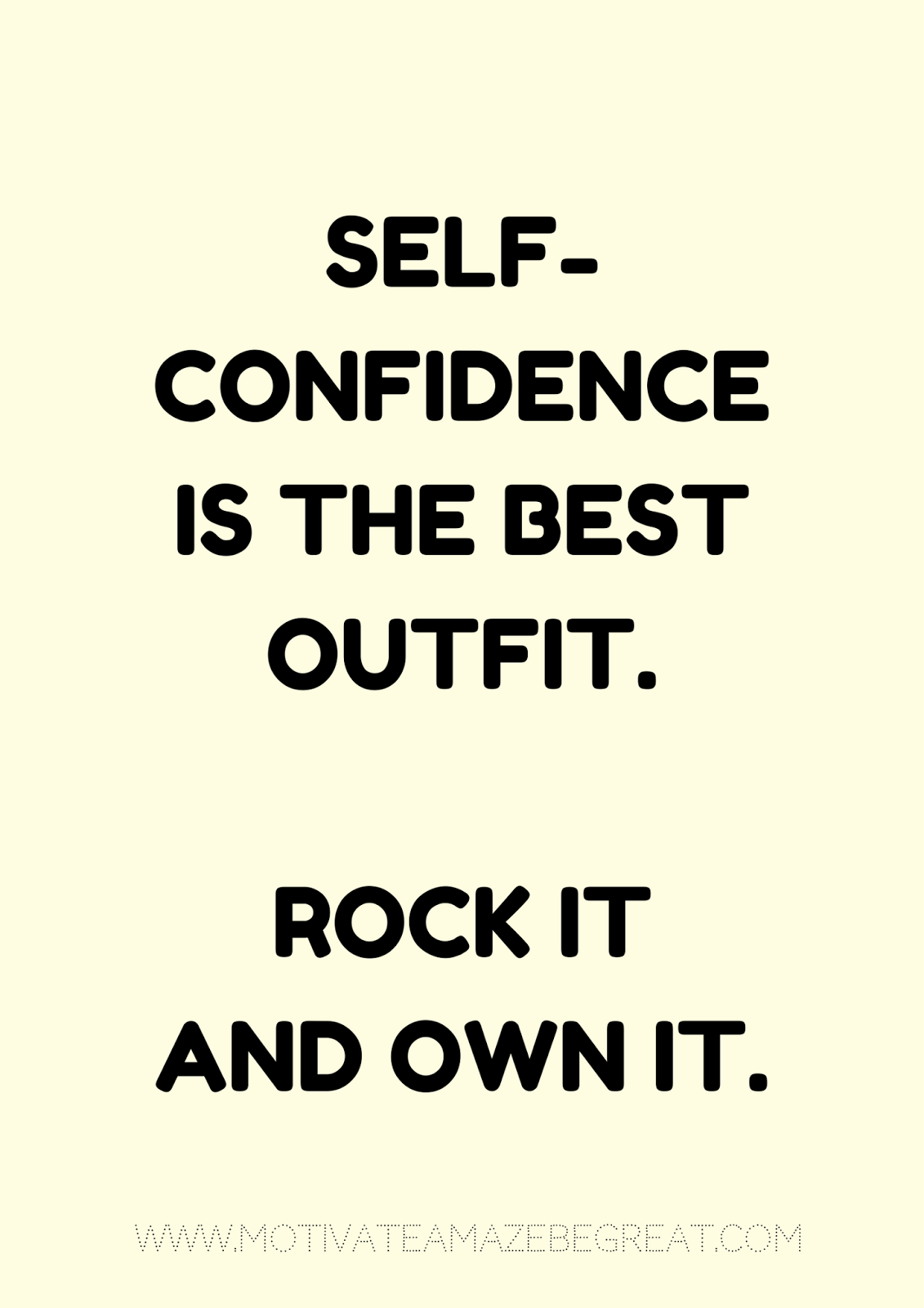 Self Confidence Quotes 27 Self Motivation Quotes And Posters For Success  Motivate Amaze