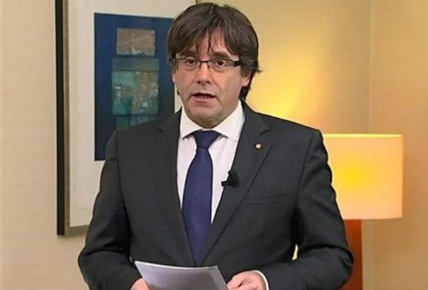 Policía alemana confirma detención de Carles Puigdemont