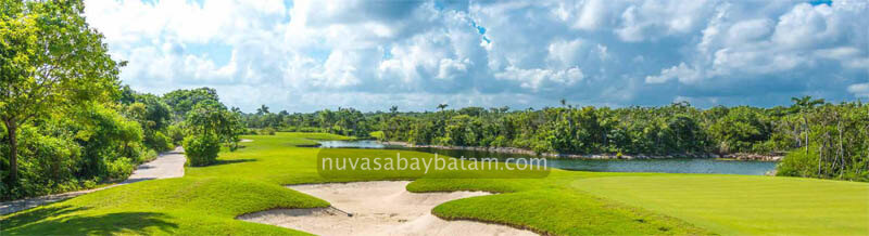 Nuvasa Bay Batam Golf Course View