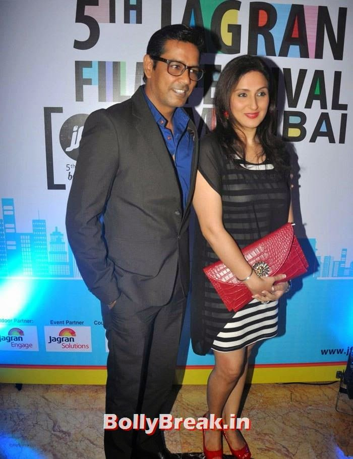 Anup Soni, Juhi Babbar, 5th Jagran Film Festival Red Carpet Pics