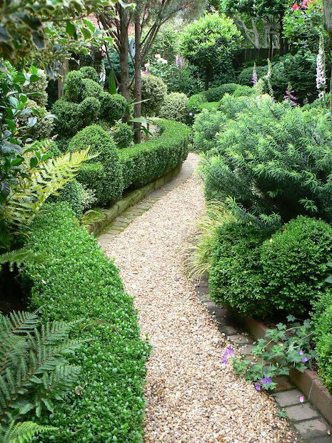 Garden Gravel Path Home Design Ideas