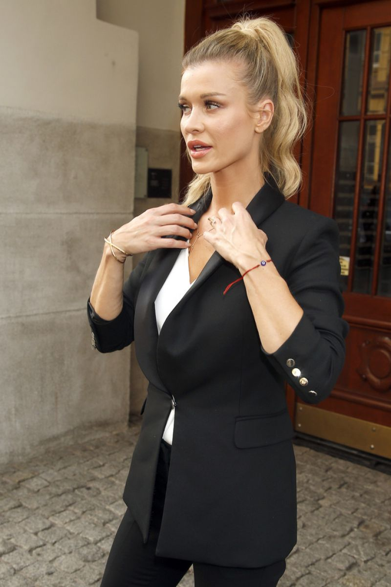 Joanna Krupa at New Collection Simple Presentation in Warsaw