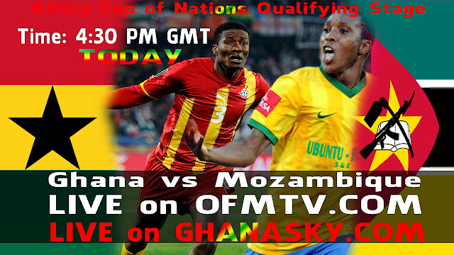 Ghana vs Mozambique Live Stream TV - Africa Cup of Nations Qualifying Stage