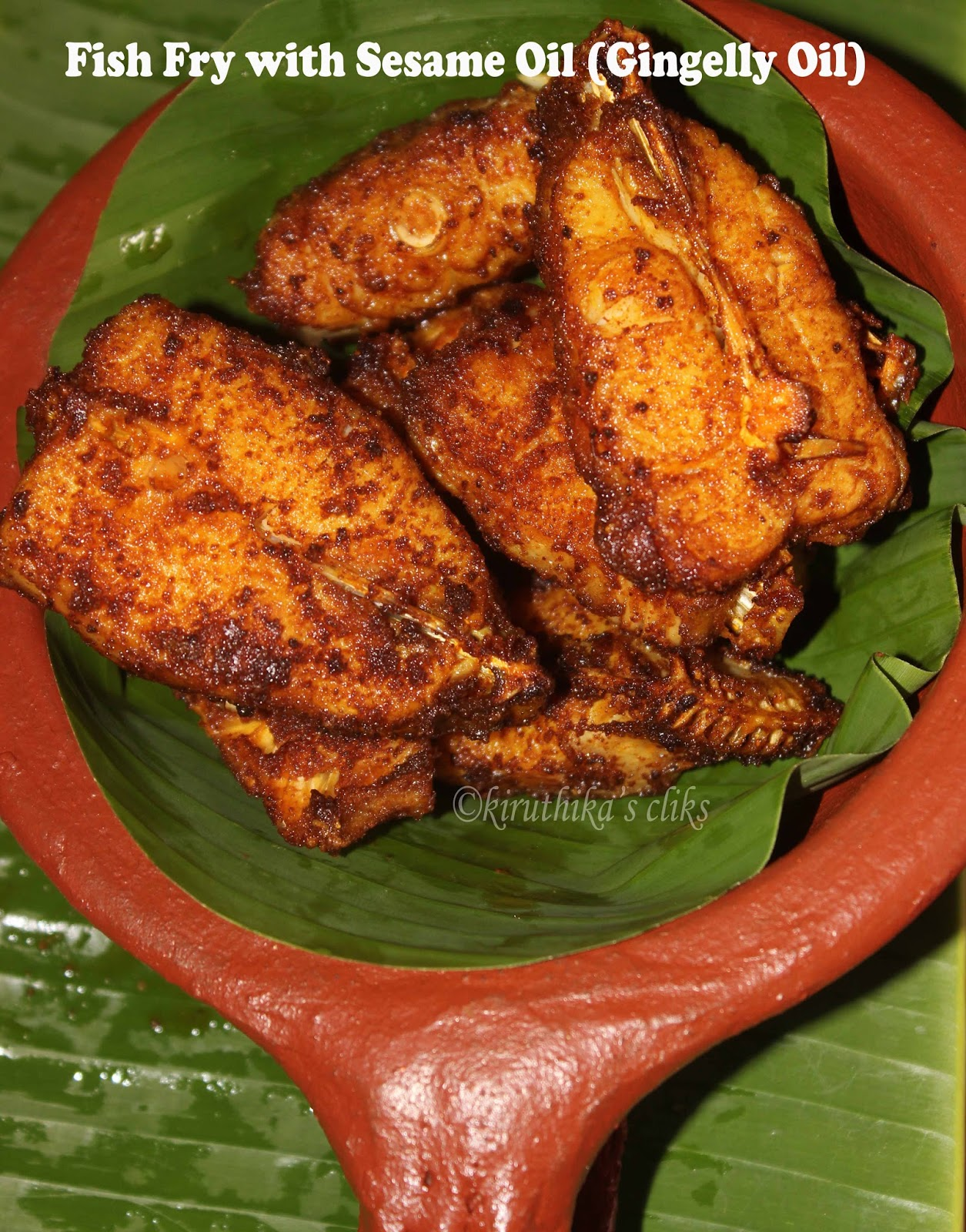 Indian food recipes indian recipes desi food desi recipes fish fry are always exotic i got a valuable hint from my chithimothers younger sister and it is while making masala for fish fry add sesame oil forumfinder Choice Image
