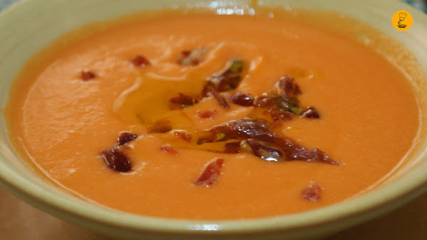 Salmorejo (9€) restaurante Triana Madrid