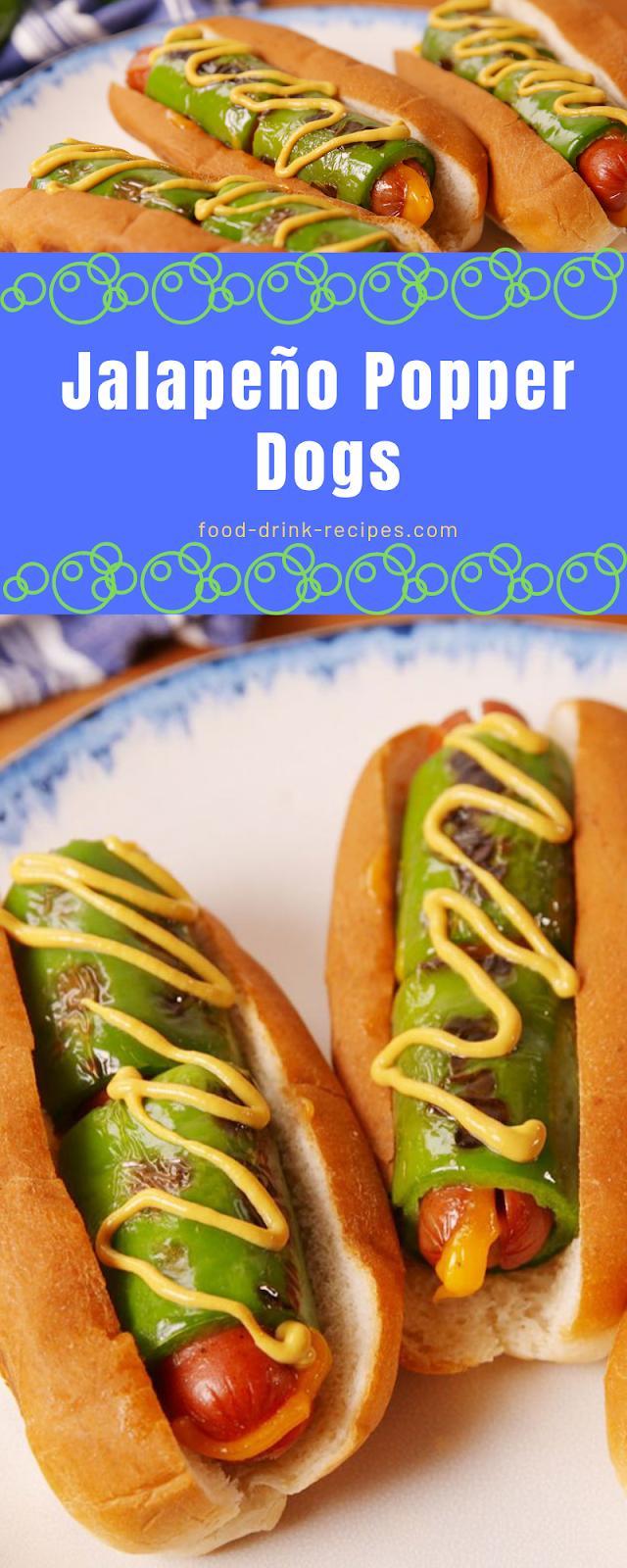 Jalapeño Popper Dogs - food-drink-recipes.com