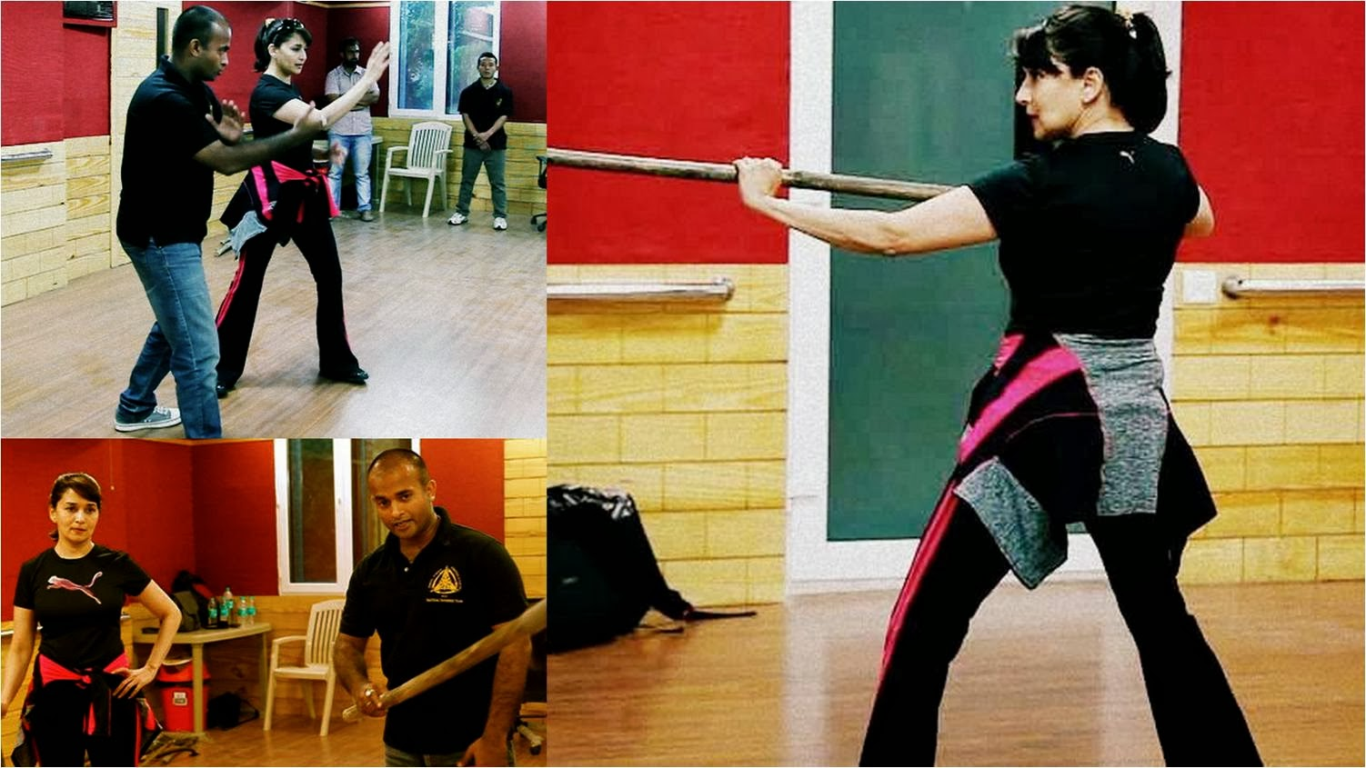 Preparations by the Madhuri Dixit for Gulaab Gang movie