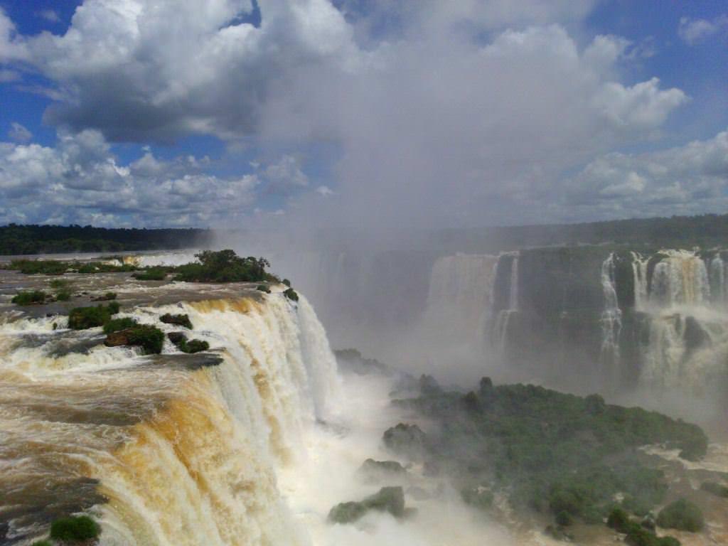 Cataratas do Iguaçu, uma das Sete Maravilhas Naturais do Mundo