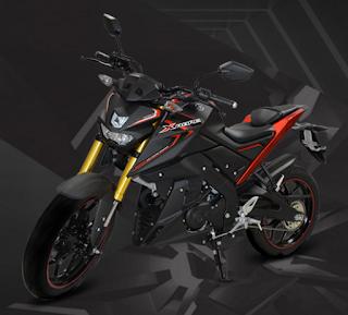 Yamaha Xebre hitam terbaru 2016
