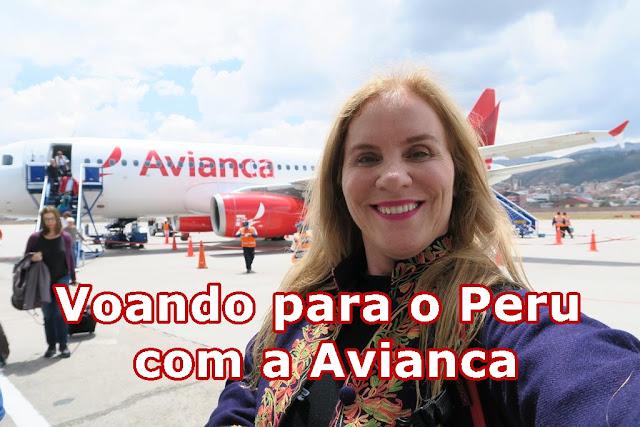 Viajando para o Peru, parte aérea!