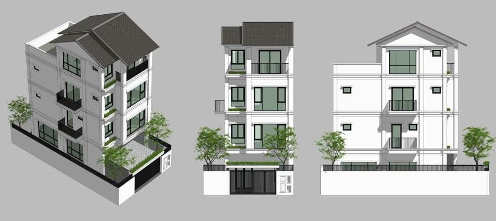 Thiết kế Liền Kề ST5 Gamuda Gardens