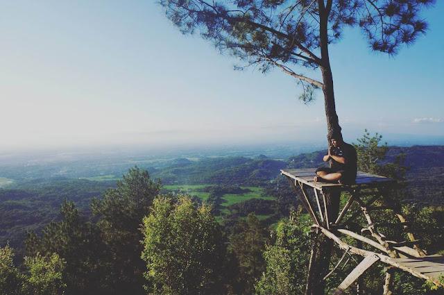 pemandangan di puncak becici