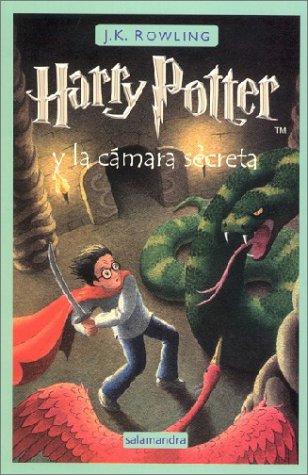 dame + libros: Harry Potter y la cámara secreta