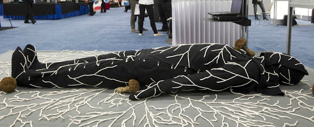 Latest News This mushroom suit-digests your body- after you die