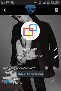 BBM Mod Tema T.O.P BigBang v.2.13.1.14 Apk Terbaru