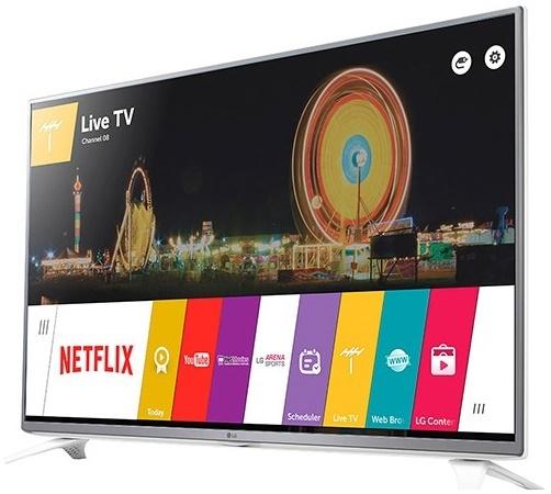 Smart TV da LG tem tela de 43 polegadas com resolução Full HD