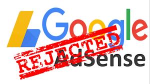 Penyebab daftar Google adsense ditolak