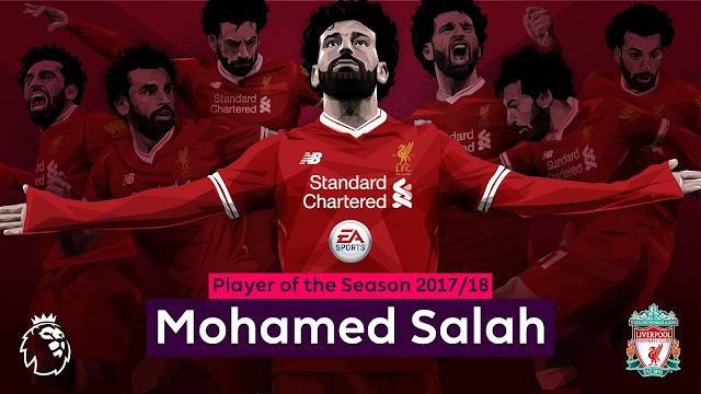 الدوري الانجليزي يعلن رسميا محمد صلاح افضل لاعب